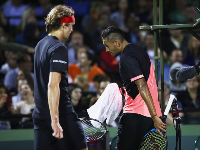 The Kyrgios-Zverev Rivalry May Not Be So Much Fun After All