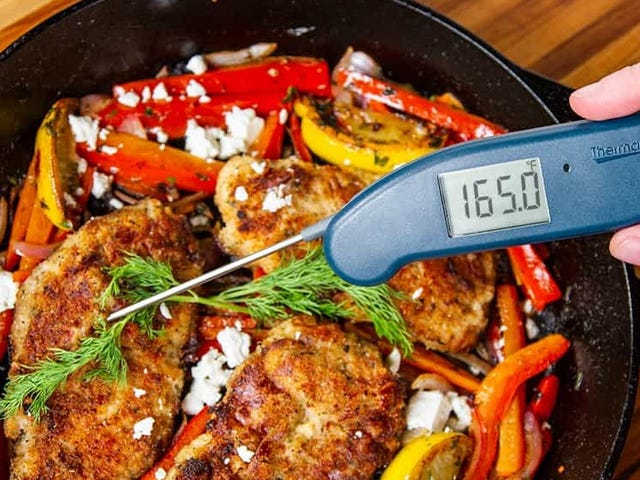 Save $20 On the Best Meat Thermometer, In Red, White, or Blue