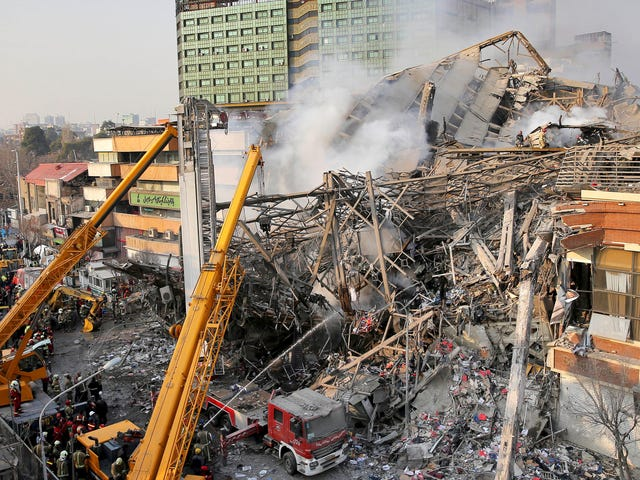 Why 9/11 Truthers Are Obsessed With the Plasco High-Rise Fire in Tehran
