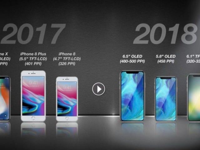 Προφανώς, Ήρθε η ώρα να σκεφτείτε για iPhones του επόμενου έτους ήδη