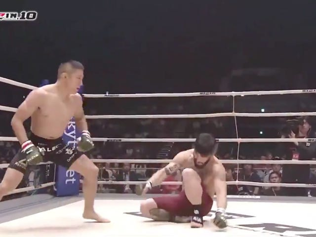 MMA Fighter Ends Main Event In Nine Seconds With One-Punch Knockout