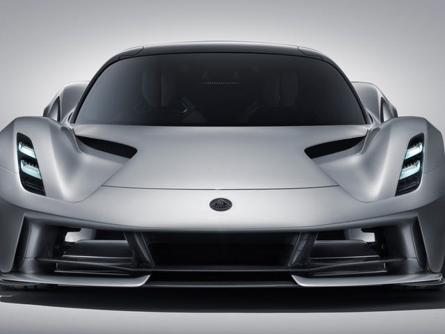 The Lotus Evija EV Hypercar Promises Almost 2000 Horsepower, Awesome Looks