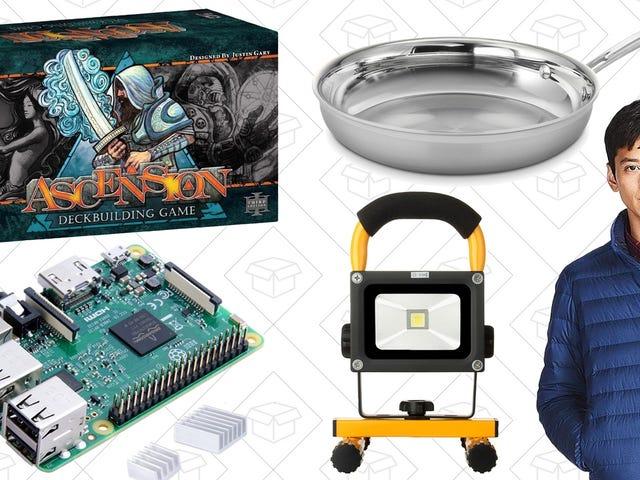 As Melhores Ofertas de Hoje: Board Blowout, Tri-Ply Cookware, Raspberry Pi e Mais