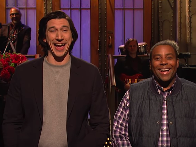 """<a href=""""https://tv.avclub.com/snl-returns-with-adam-driver-and-a-continued-lack-of-am-1829418877"""" data-id="""""""" onClick=""""window.ga('send', 'event', 'Permalink page click', 'Permalink page click - post header', 'standard');""""><i>SNL</i> returns with Adam Driver and a continued lack of ambition</a>"""