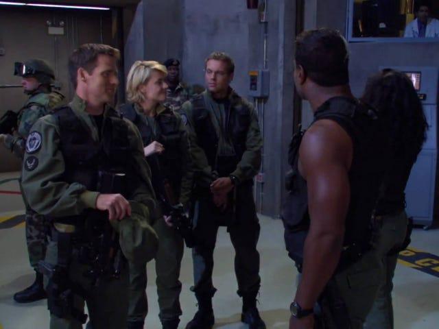 10 лет назад Stargate SG-1 вышла в эфир в последний раз