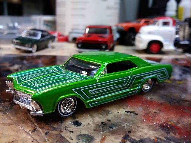 Wheel swapped Riviera