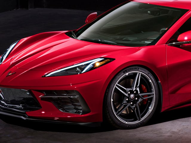 In Desperate Attempt To Get Buyers Below Retirement Age, C8 Corvette Ditches Chrome Wheels