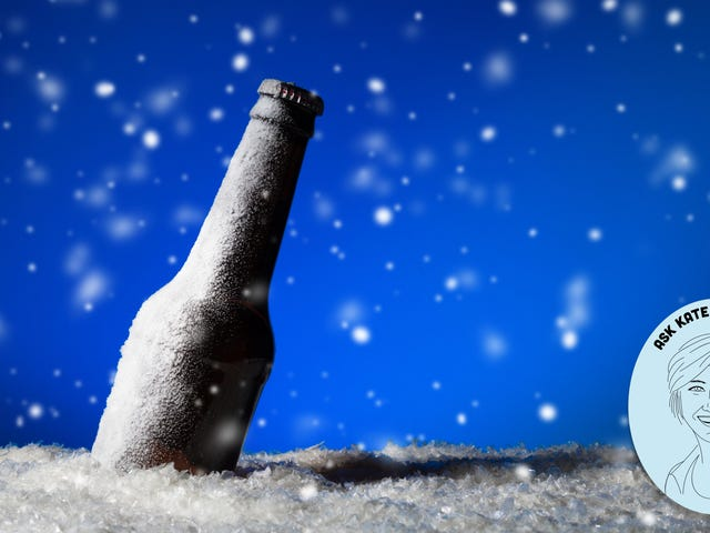 Ask Kate About Beer: I accidentally froze my beer. Is it ruined?
