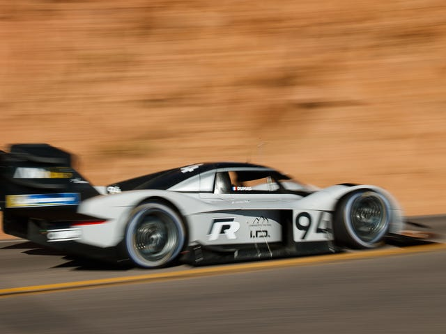 Some Interesting Facts About Volkswagen's Record-Smashing Pikes PeakElectric Race Car