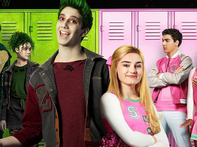 Disney Channel Hits Copy-Paste With Latest 'Freak Chic' Musical Zombies