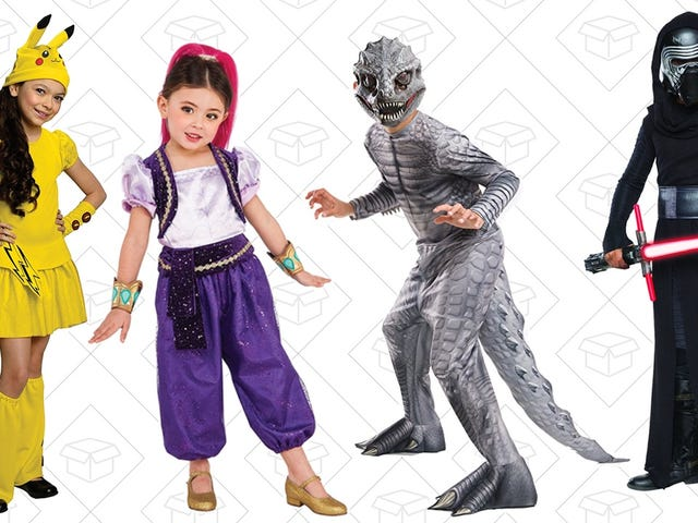 Scare Up Some Savings On Children's Halloween Costumes