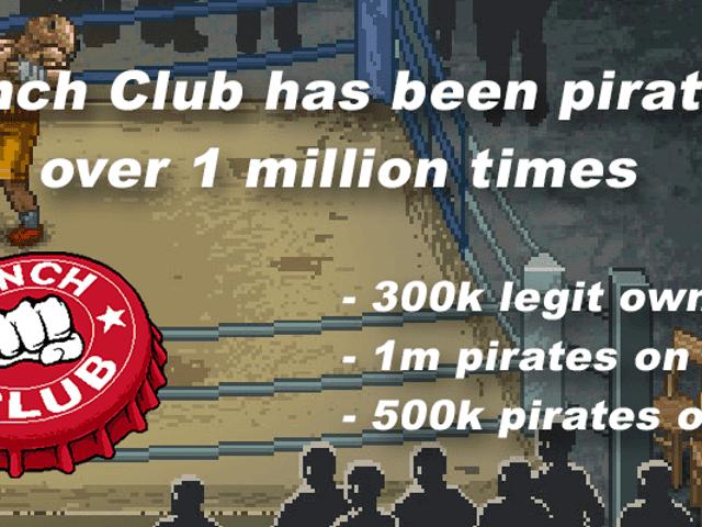 Numren bakom piratkopiering av ett populärt ångspel