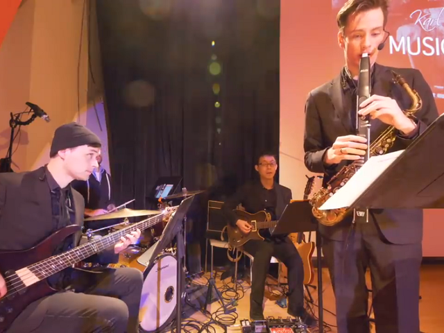 A Compelling Behind-the-Scenes Look at The Bit Awards' House Band
