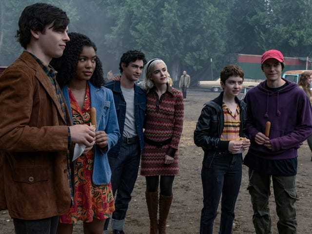 Chilling Adventures of Sabrina can't escape the troubles of high school