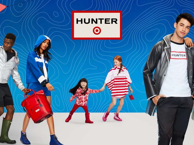 Target's New Hunter Collection Is More Than Just Well-Priced Rain Boots