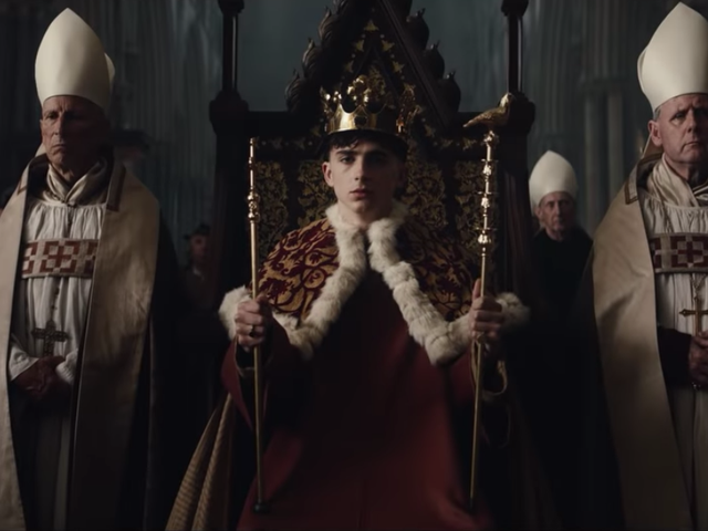Heavy is the Timothée that wears the crown in new trailer for Netflix's The King