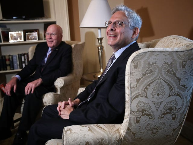 New Robe, Who Dis? Trump's Tax Appeal Is Going to a Court Headed By ... Wait for It ... Merrick Garland
