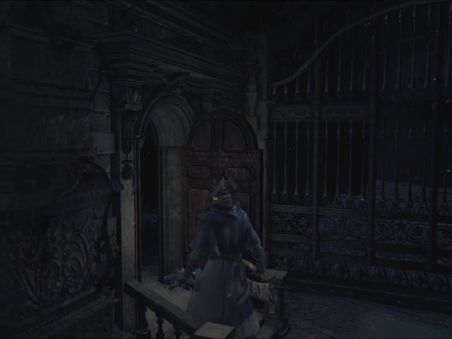 Little Mystery Behind Unused Door in <i>Bloodborne</i>