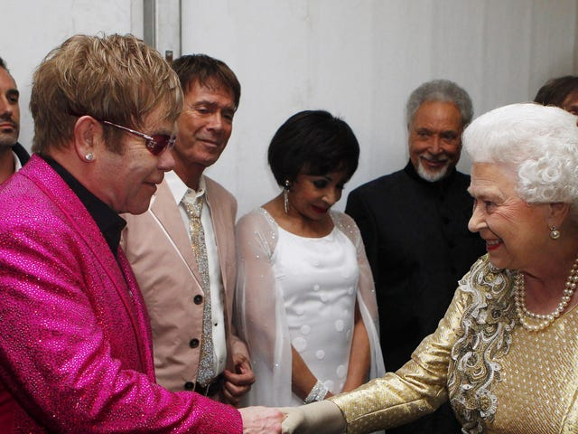 Elton John Once Watched the Queen Slap Her Nephew in the Face While Telling Him, 'I Am the Queen'