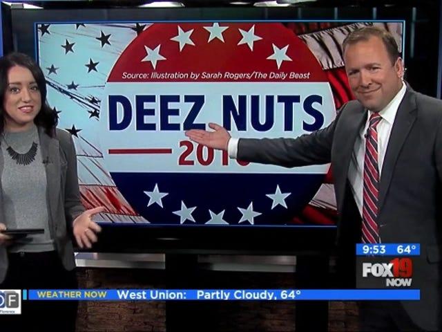 Deez Nuts: The Day Ogni stazione di notizie locali ha ottenuto BOFA'd