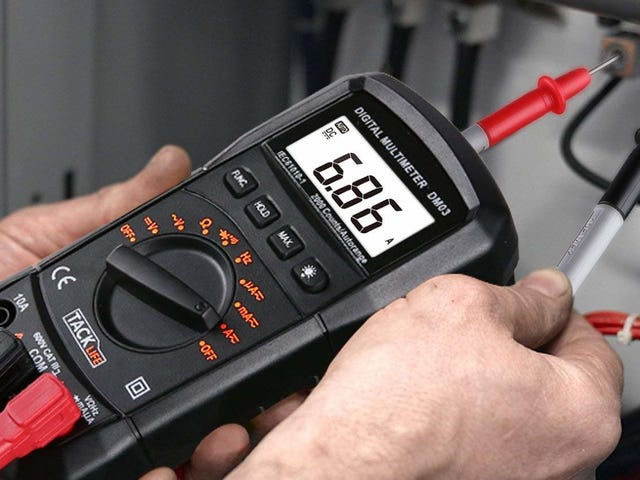 This $6 Multimeter Deal Won't Be a Shock To Your Wallet