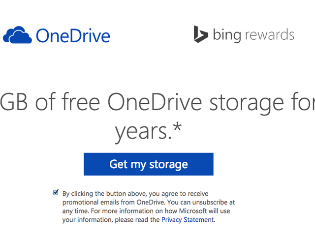 Microsoft Will Give You 100GB of Free OneDrive Storage for Two Years