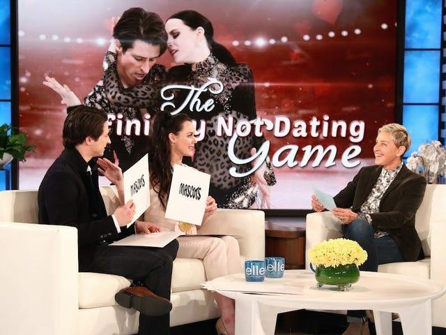 Ellen DeGeneres Tidak Percaya Scott Moir dan Tessa Virtue Bukan Pasangan, Baik