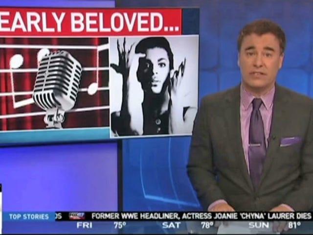 Un présentateur de télévision licencié après un reportage sportif sur le Prince