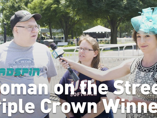 Hur väl visade Belmont Stakes Crowd Triple Crown History?
