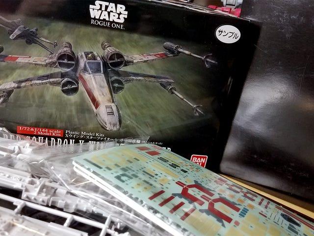 Bitte helfen Sie mir, dieses Star Wars: Rogue One Modell-Kit zusammenzustellen