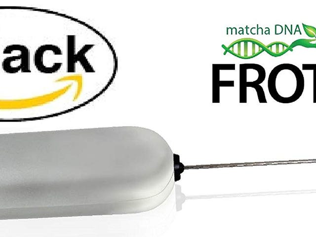 50% OFF MatchaDNA Milk Frother - Handheld Battery Operated Electric Foam Maker (Round Tip 6 Pack) $14.95