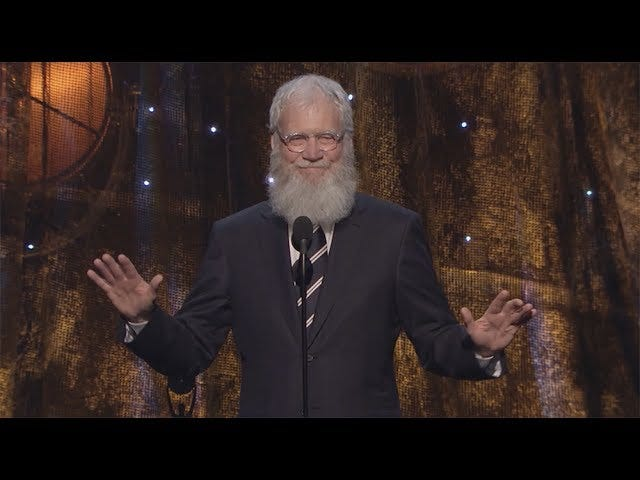 Letterman and Neil Young on FarmersOnlydotCom