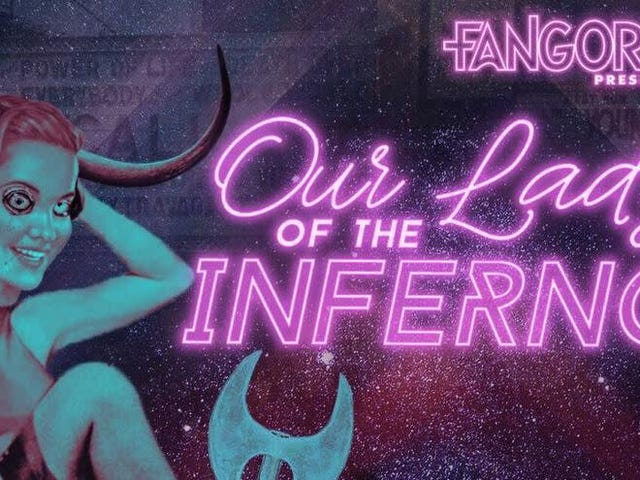 Horror legend Barbara Crampton to lead the audiobook cast of Fangoria's Our Lady Of The Inferno