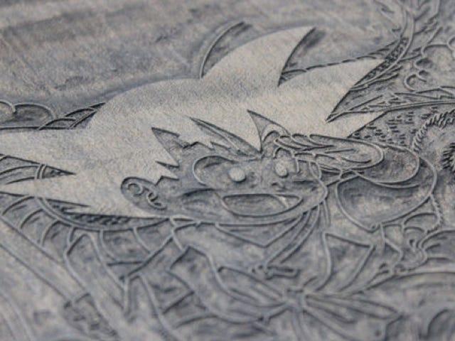 Gambar-gambar <i>Dragon Ball</i> mempunyai anak lelaki yang mempunyai tradisi bahasa japonés
