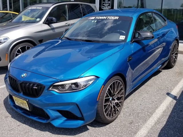 Dropping by BMW's M Town Tour
