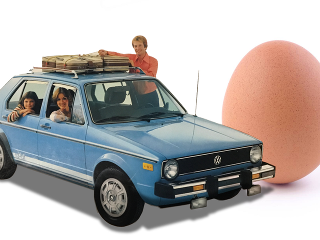 This Old Volkswagen Rabbit Brochure Makes A Couple Of Really Weird Points