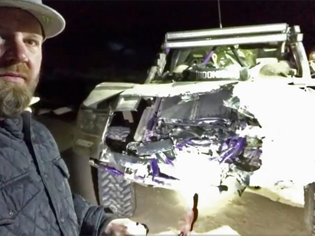 Toyota Off-Road Pro BJ Baldwin On Baja Crash: 'The Worst Thing I Have Hit To Date'