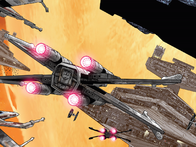 The Origins of Rogue Squadron Now Have a Much Closer Bond to the Star Wars Movies