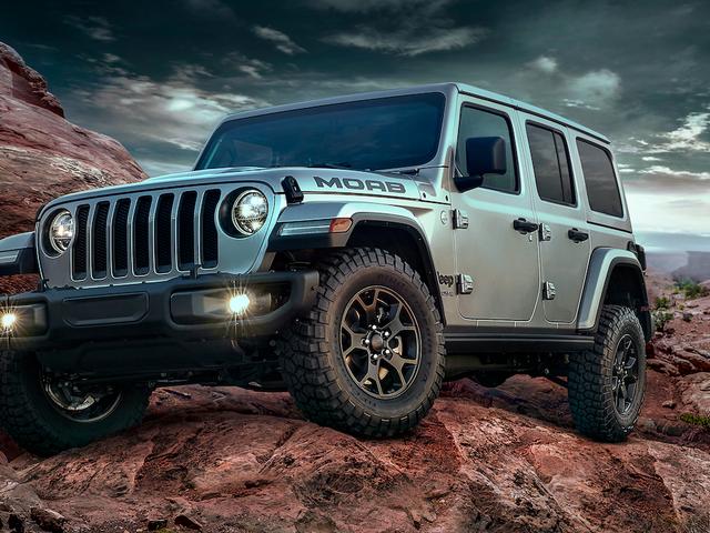 Jeep Wrangler Moab 2018 года является первым специальным выпуском JL, но это не совсем Rock Crawler-Spec