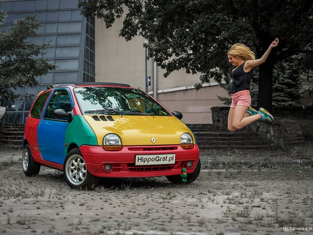 You've heard of the Harlequin Golf, but what about the Graffiti Twingo?