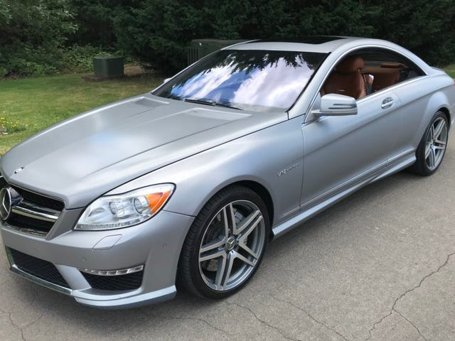 Get this pillarless 2011 CL63 AMG for a song!*