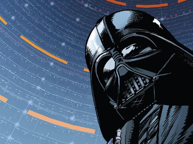 หลังจาก Empire Strikes Back, Darth Vader กำลังทำงานผ่านกองขี้เถ้าแห่งสตาร์วอร์ส