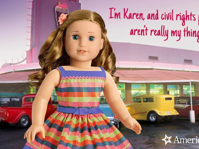 Girl Power! American Girl Has Released A New Doll Who Was Alive During The Civil Rights Movement But Didn't Really Help At All