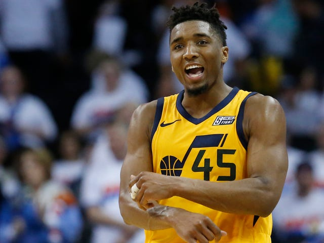 Even A Hobbled Donovan Mitchell Won't Go Down Easily