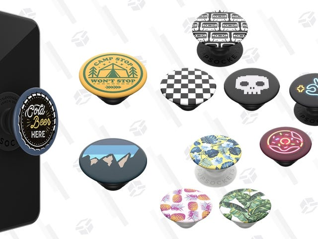 Get Every Teen On Your Holiday List a Swappable Pop Socket Pack For $5 Off