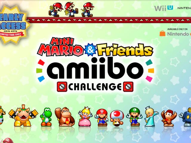 Buy a New Amiibo, Get Free Early Access to Mini Mario & Friends