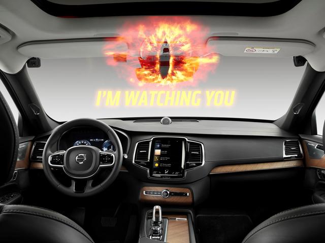 Volvo souhaite que vous arrêtiez de texter au volant en vous surveillant à l'aide d'un appareil photo embarqué [MISE À JOUR]