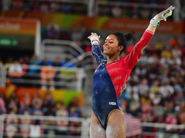 Gabby Douglas kan niet doorgaan naar de eindronde in de gymnastiek vanwege de regel '2 per land'