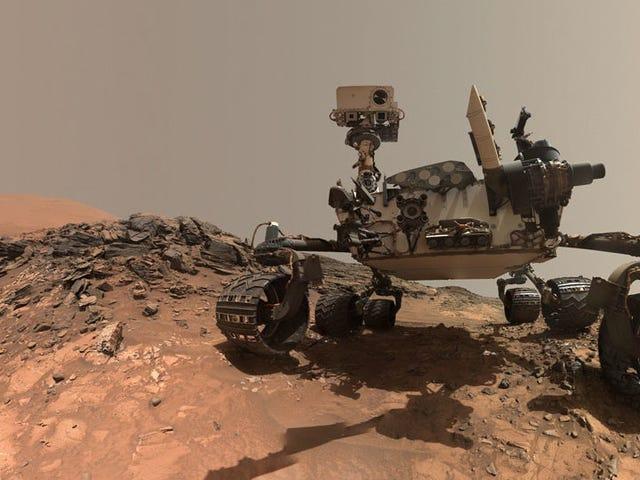 Curiosity Rover đã phát hiện ra khí mê-tan trên sao Hỏa vào năm 2013, một phân tích mới xác nhận
