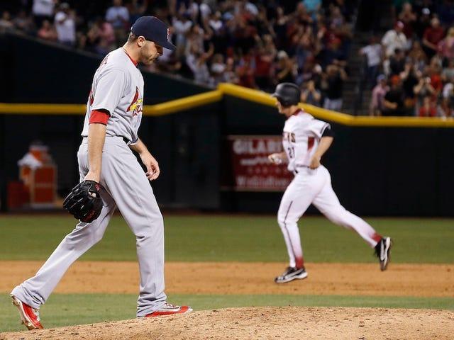 Los cardenales perdieron su noveno juego
